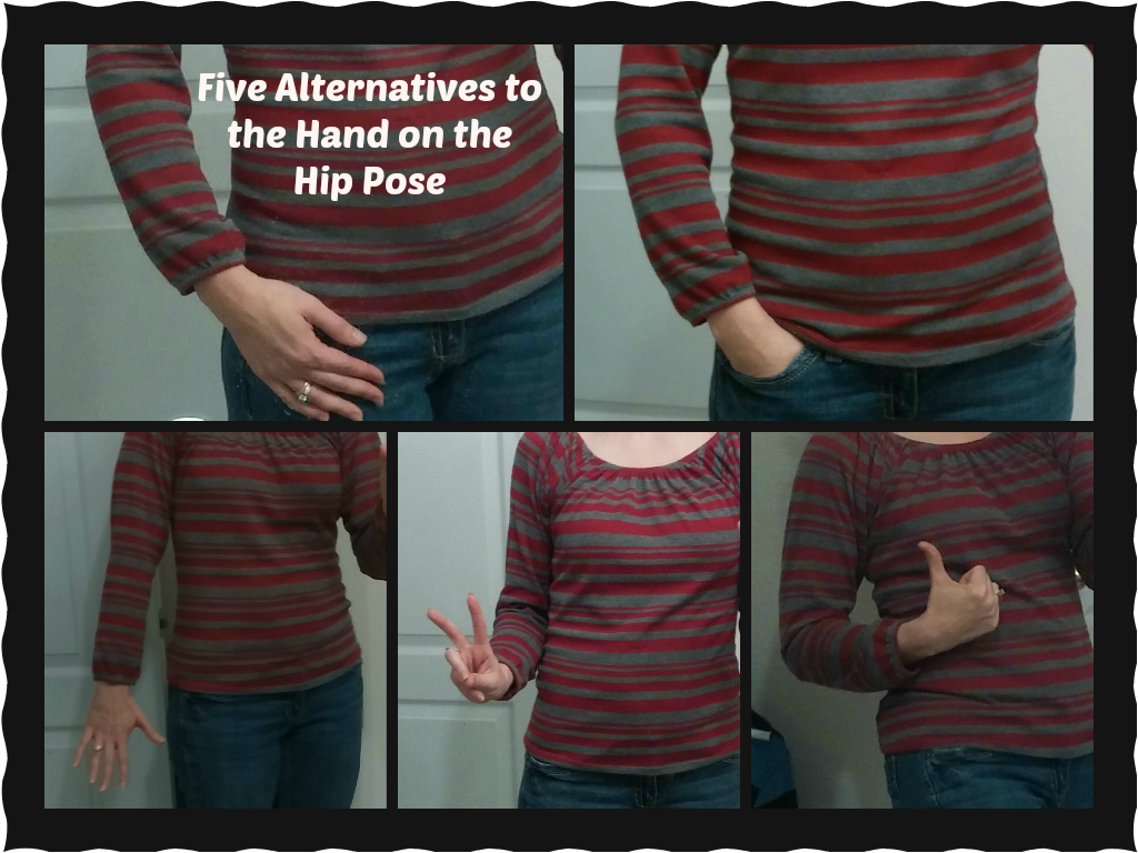Alternative Hand Poses stop the hand on your hip picture pose check out these five